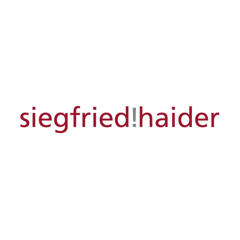 Promotion Material - Siegfried Haider Logo
