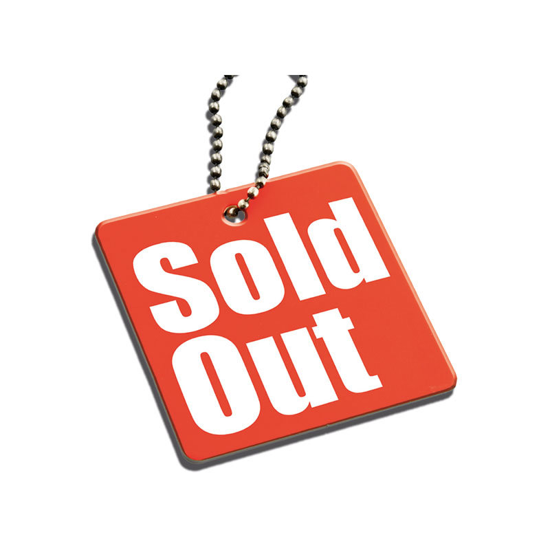 Promotion Material - Sold Out Hangtag